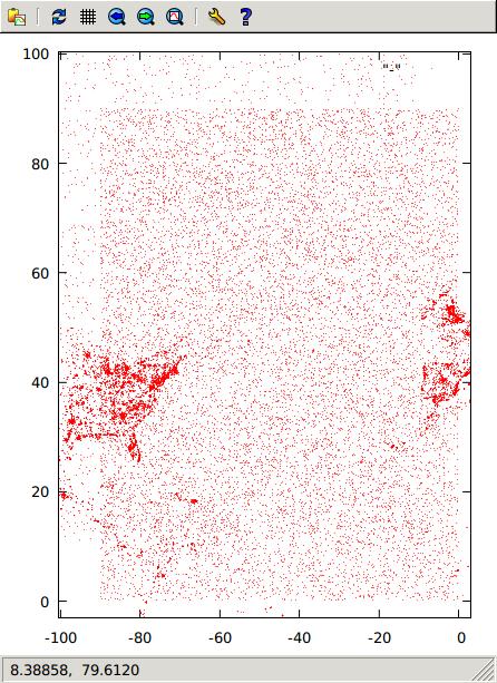Factual Investigating Low Quality Location Data Suspicious - Greenland latitude